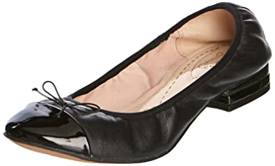 Clarks Womens Smart Clarks Ditsy Dress Leather Shoes In Black