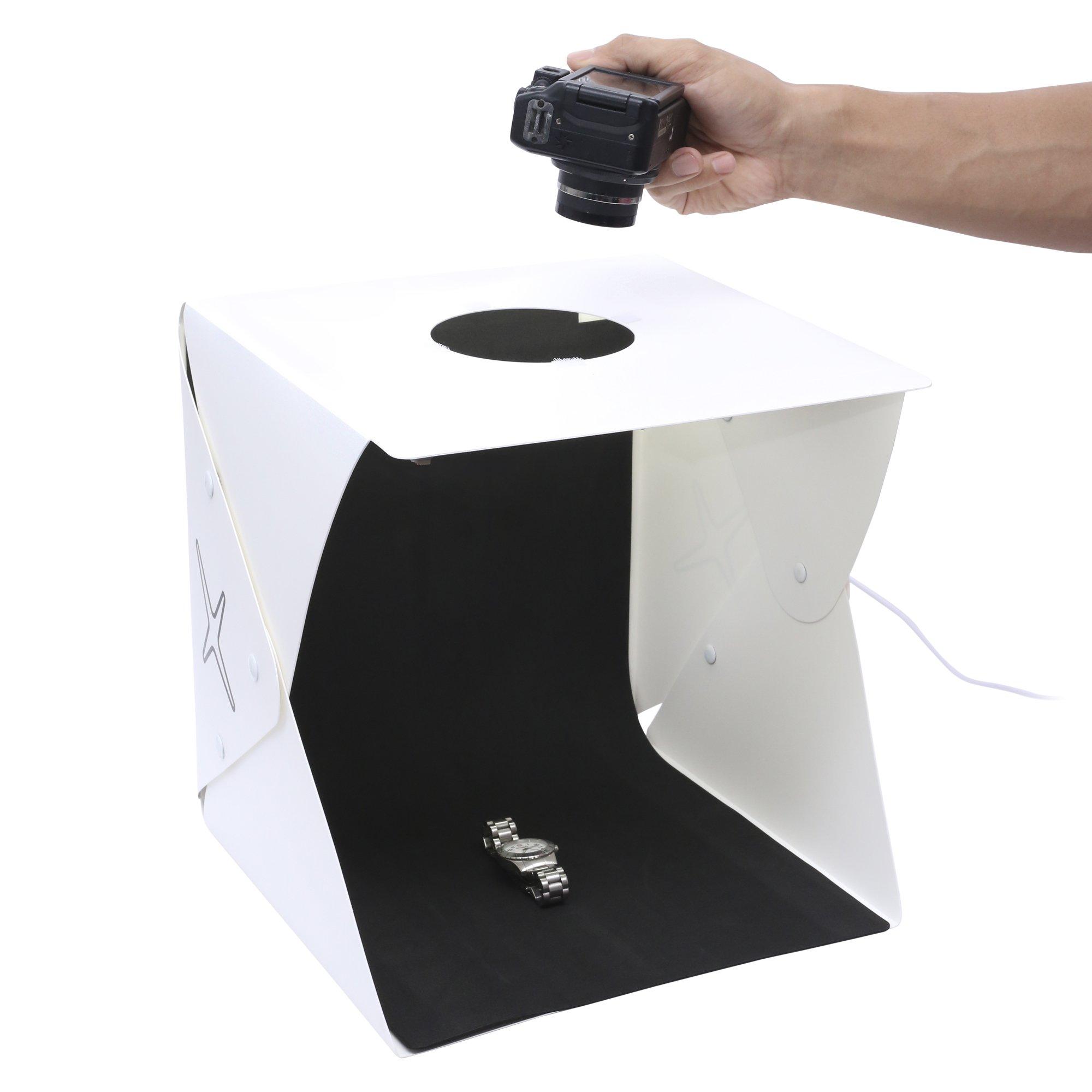 Capture Portable Photo Studio Box: LED Light Box Photo Tent- Large by Capture (Image #7)