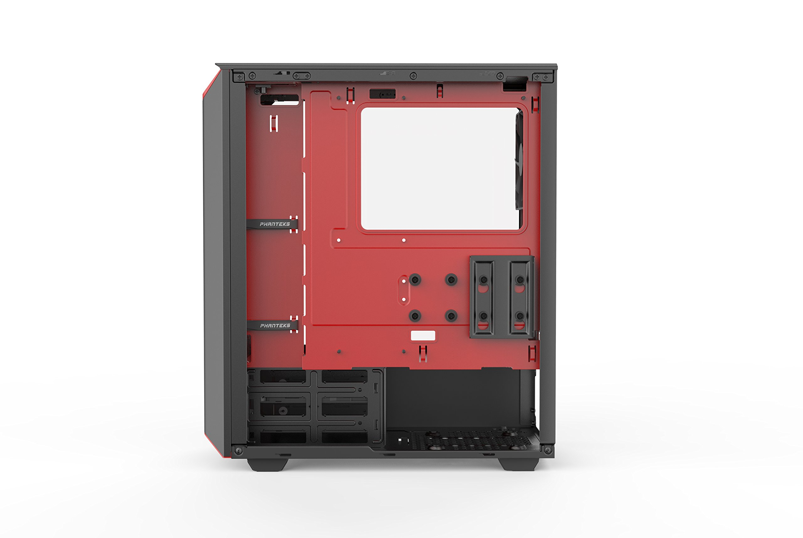 Phanteks PH-EC300PTG_BR Eclipse P300 Tempered Glass Steel ATX Mid Tower Case Black/Red by Phanteks (Image #5)