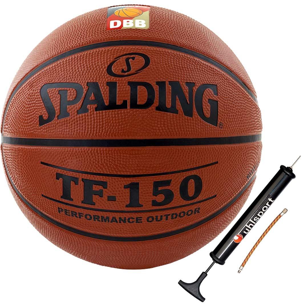 Ballpumpe Spalding Basketball mit DBB LOGO Gr/ö/ße 5