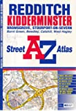 A-Z Redditch and Kidderminster Street Atlas
