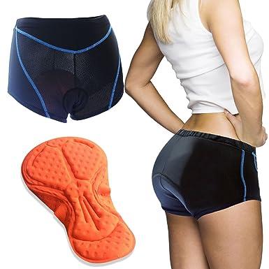 Twotwowin Bike Underwear Shorts 3d Padded For Women S