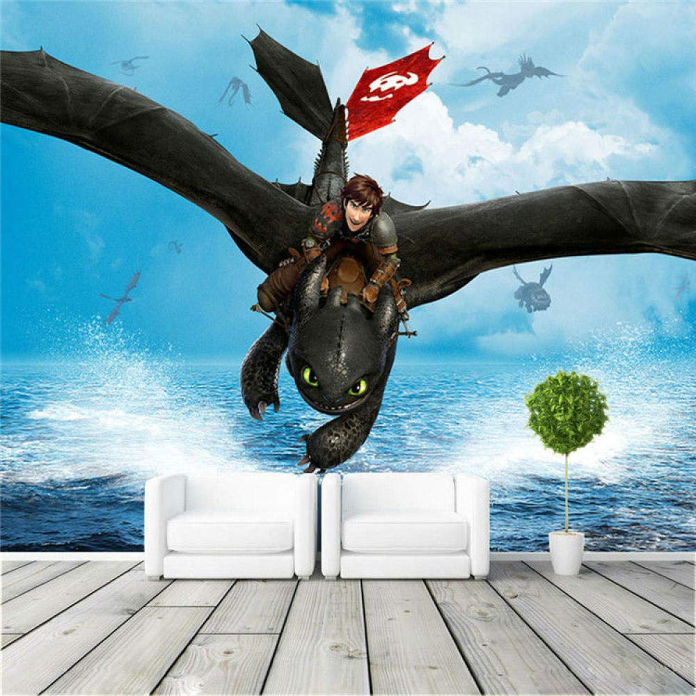 Amazon Com Mural Wallpaper How To Train Your Dragon Wall Mural