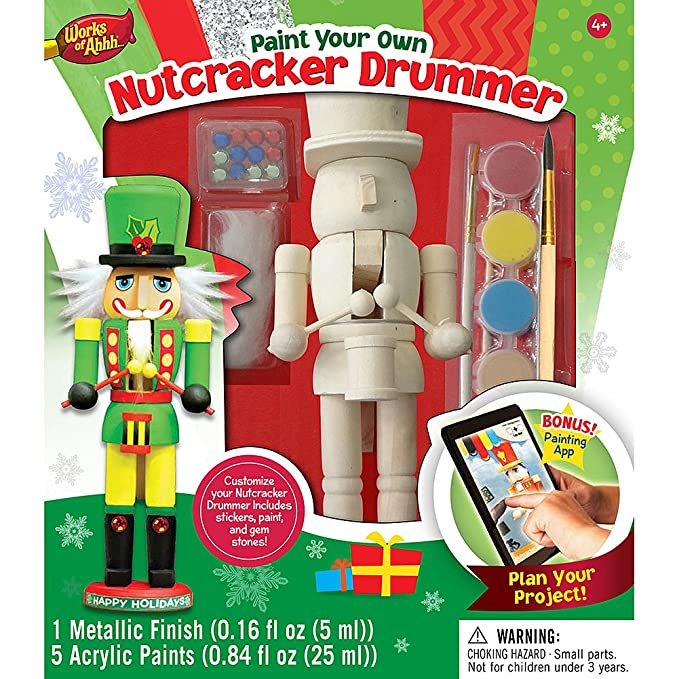 Amazon paint your own nutcracker drummer by masterpieces toys amazon paint your own nutcracker drummer by masterpieces toys games solutioingenieria Image collections