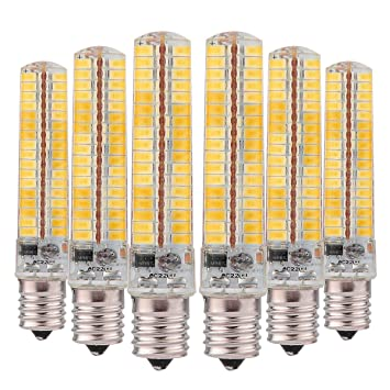 Bombillas LED E11 E17 E12 E14 G9 G4 BA15D Lámpara de ahorro regulable por LED 5730 ...