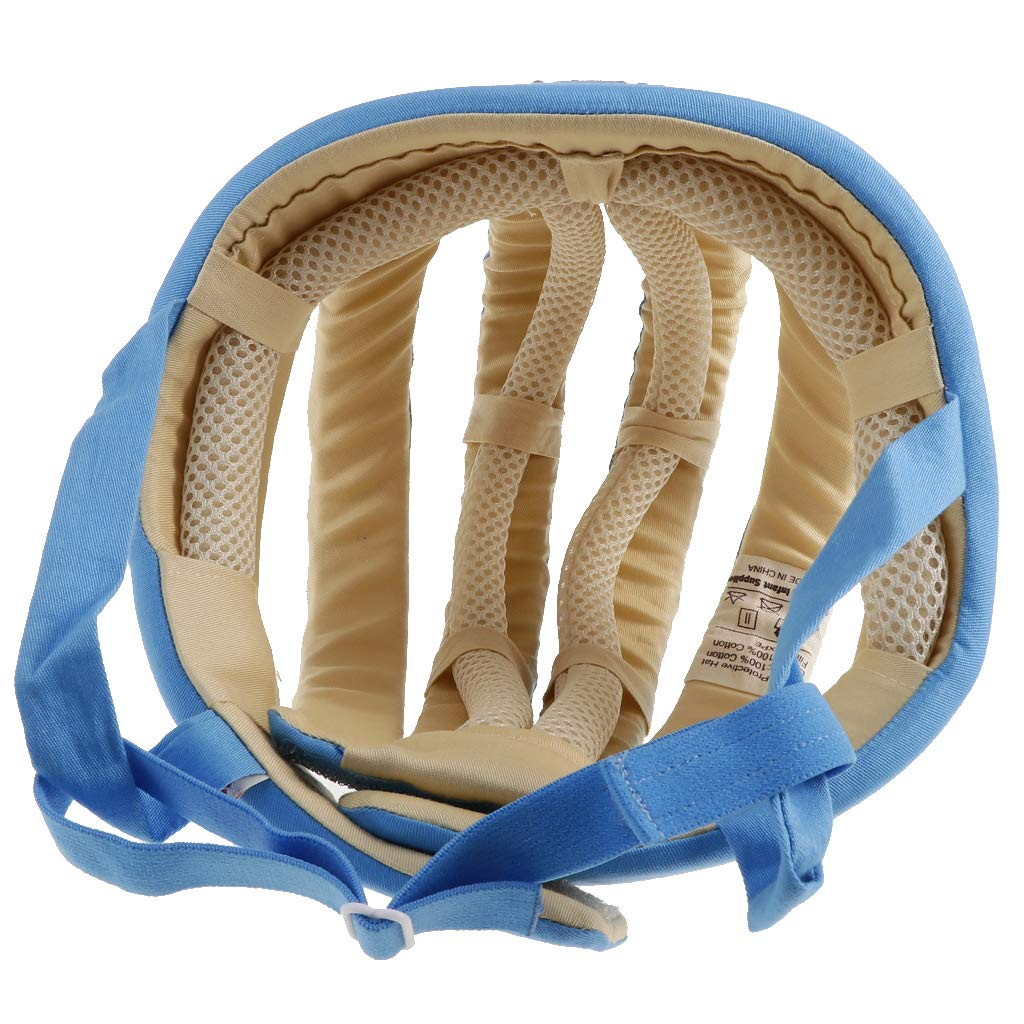 Fenteer Chapeau Protection B/éb/é Nourrisson Casquette Incassable Beige