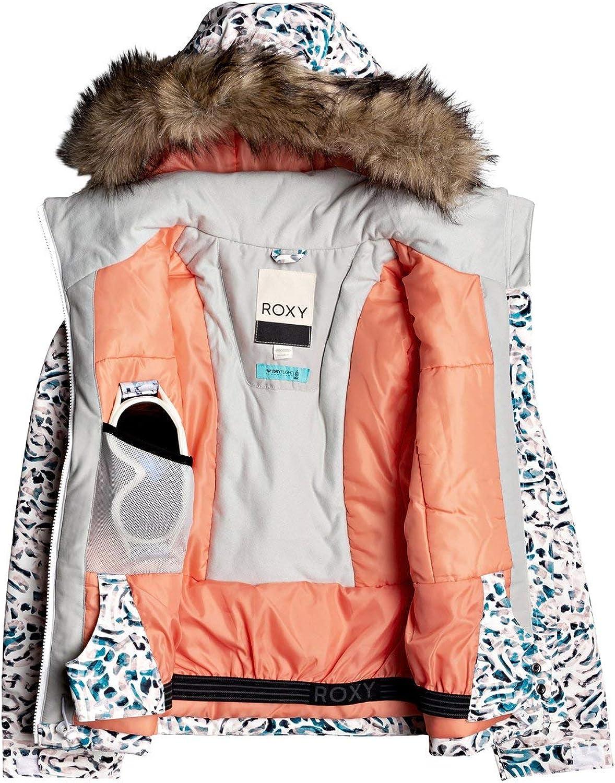 Roxy M/ädchen Jet Ski Schneejacke f/ür M/ädchen 8-16 Schneejacke