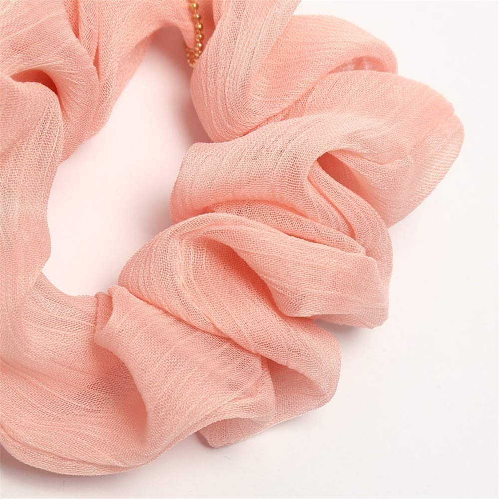 LABIUO 8 Couleurs Cheveux /Élastique Chouchous Multicolore Cheveux bandeaux Liens Cordes Queue De Cheval Porte Bandeaux Pour Femmes Ou Filles Accessoires De Cheveux