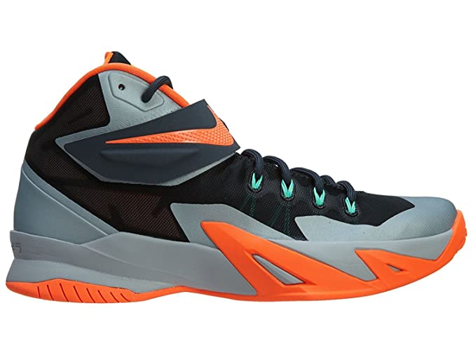 Nike Zoom Soldier VIII Dark Magnet Grey 653641?080, Uomo, Grau (Dark Magnet Grey-Hyper Crimson-Black),…