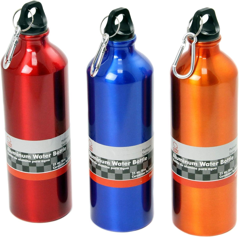 Amazon.com : Chef Craft Aluminum Water Bottle, 25oz : Sports Water Bottles  : Clothing