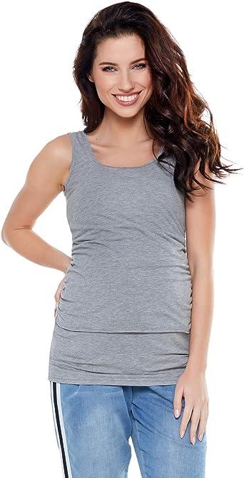 Be! Mama Camiseta de Lactancia, premamá, embarazo, modelo: Simple