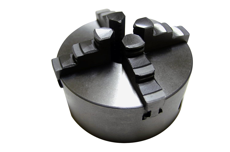 SEIKOH 旋盤チャック 4爪 スクロールチャック 125mm 逆爪3ヶセット チャックハンドル付き B00G0RPH5A