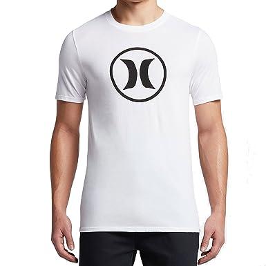 82b5f3d86b35 Amazon.com  Hurley MTS0023340 Men s Dri-Fit Circle Icon T-Shirt  Clothing