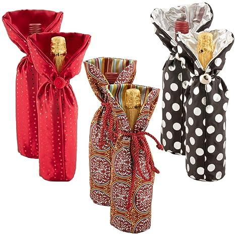 For-Keeps! Bolsas de regalo de vino de tela para adultos ...