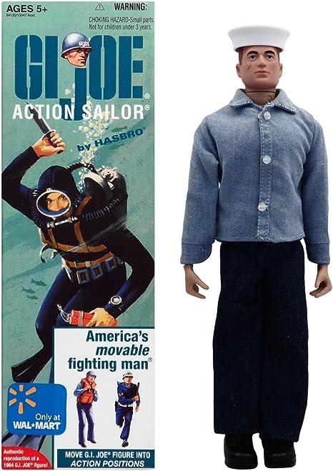 Vintage GI Joe Action Sailor Rank Stickers
