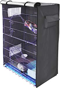 Yizhi Miaow Cover for Critter Nation Cage, Privacy Cover for Bird cage, Only Comes The Cover