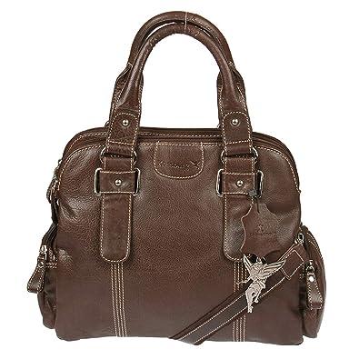 fbec8dc5b81b7 Kossberg Damen Shopper Handtasche Schultertasche Modell Mayra (Braun ...