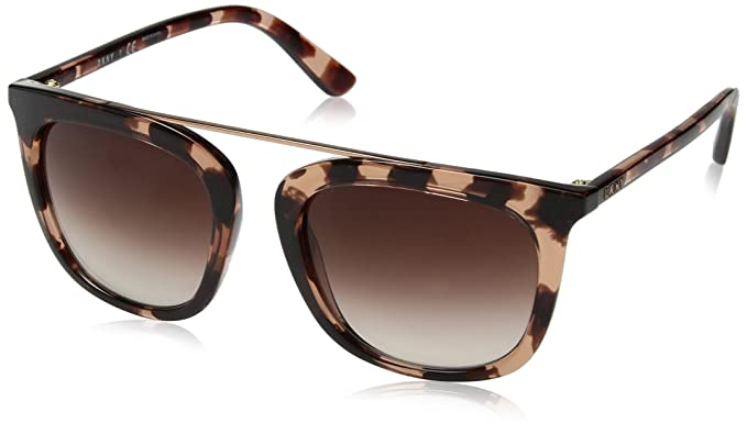 DKNY 0Dy4146 Gafas de sol, Pink Tortoise, 53 para Mujer ...
