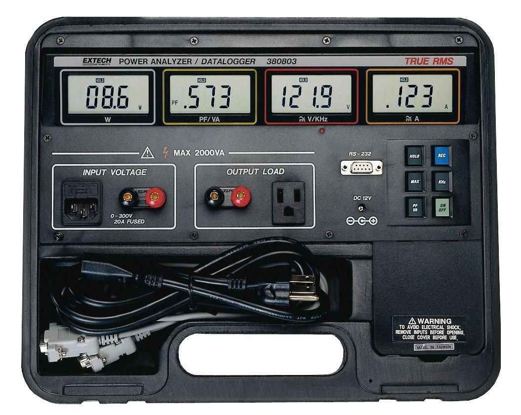 Extech 380803 True RMS Power Analyzer/Appliance Tester and Datalogger
