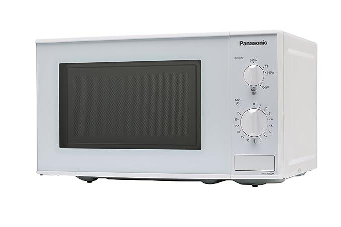 Panasonic NN-E201WMEPG - Microondas (800W, 20 litros), color Blanco: Amazon.es: Hogar