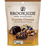 BROOKSIDE Dark Chocolate Crunchy Clusters Almonds and Berry Flavor, 5 Ounce