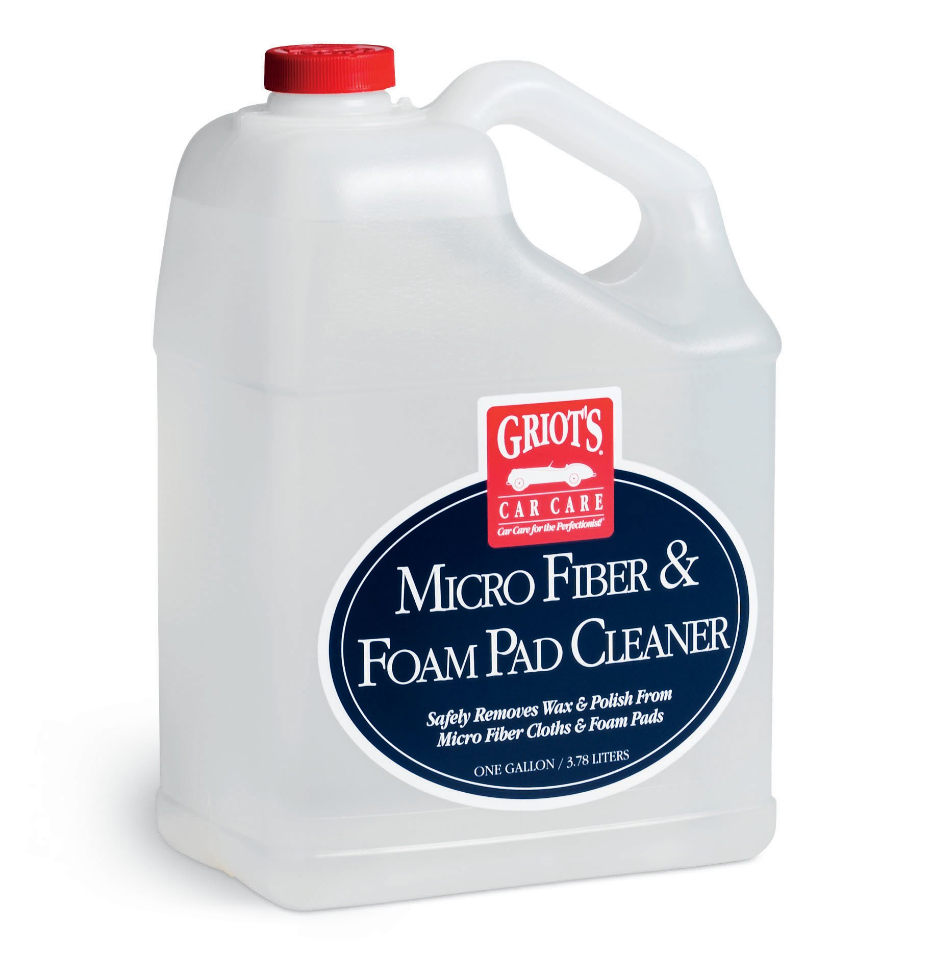 Griot's Garage 11067 Gallon Micro Fiber and Foam Pad Cleaner Gallon by Griot's Garage