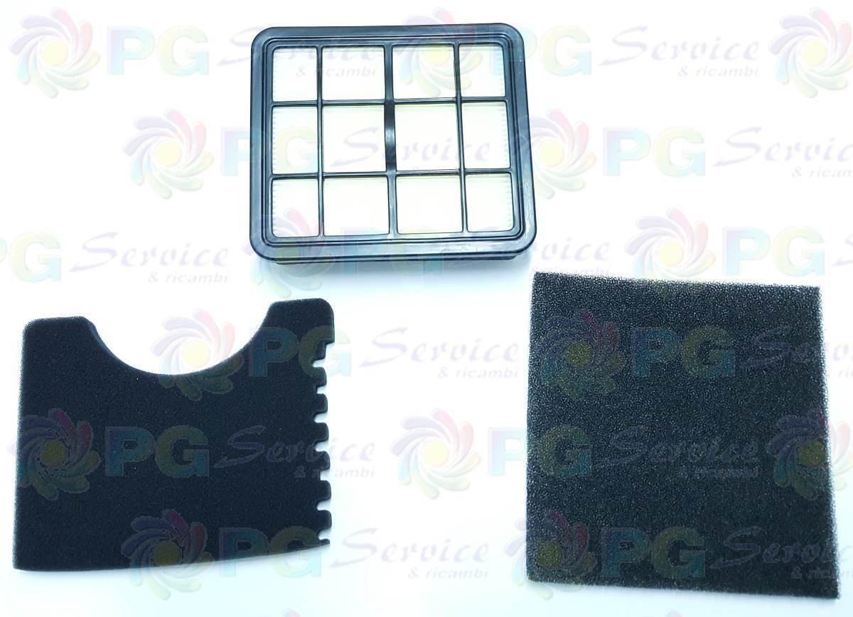 Polti Kit Filtros salida entrada aire Motor HEPA aspiradora Forzaspira CS200: Amazon.es: Hogar