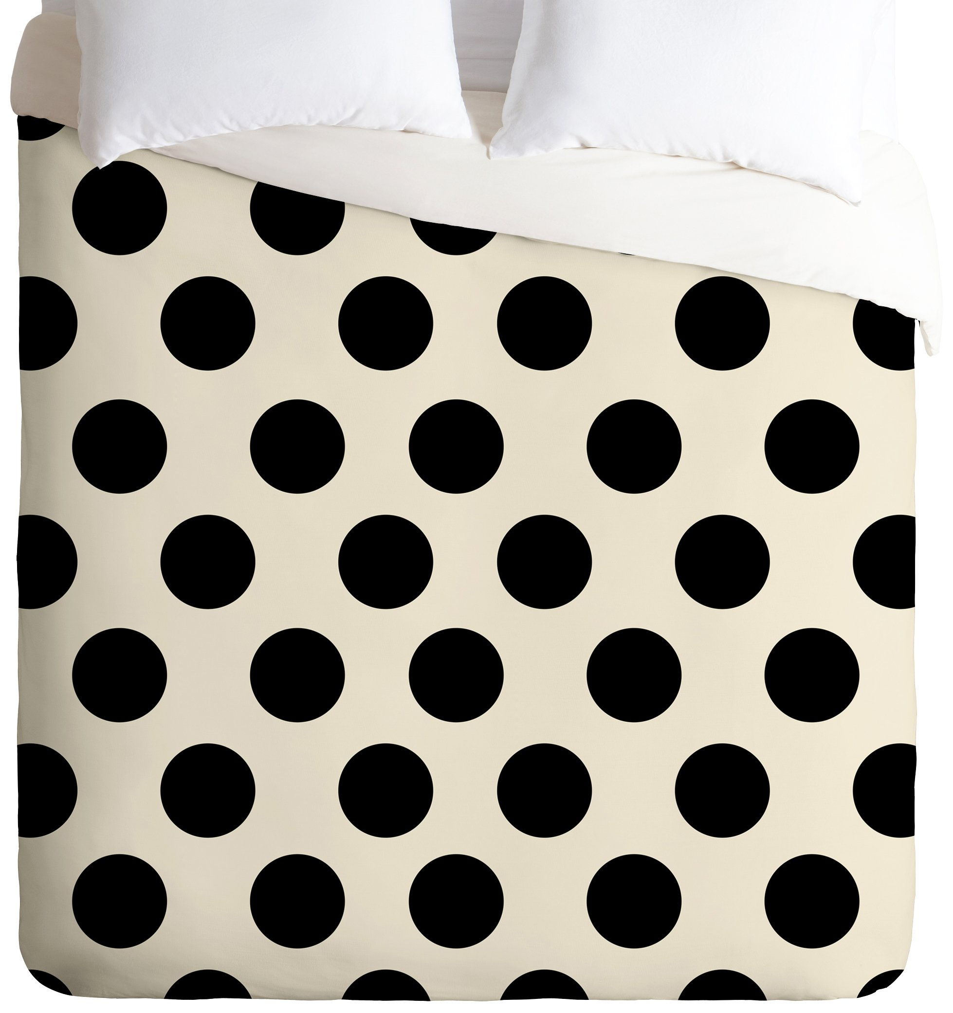 Deny Designs  Allyson Johnson Classiest Cream Duvet Cover, Twin/Twin XL