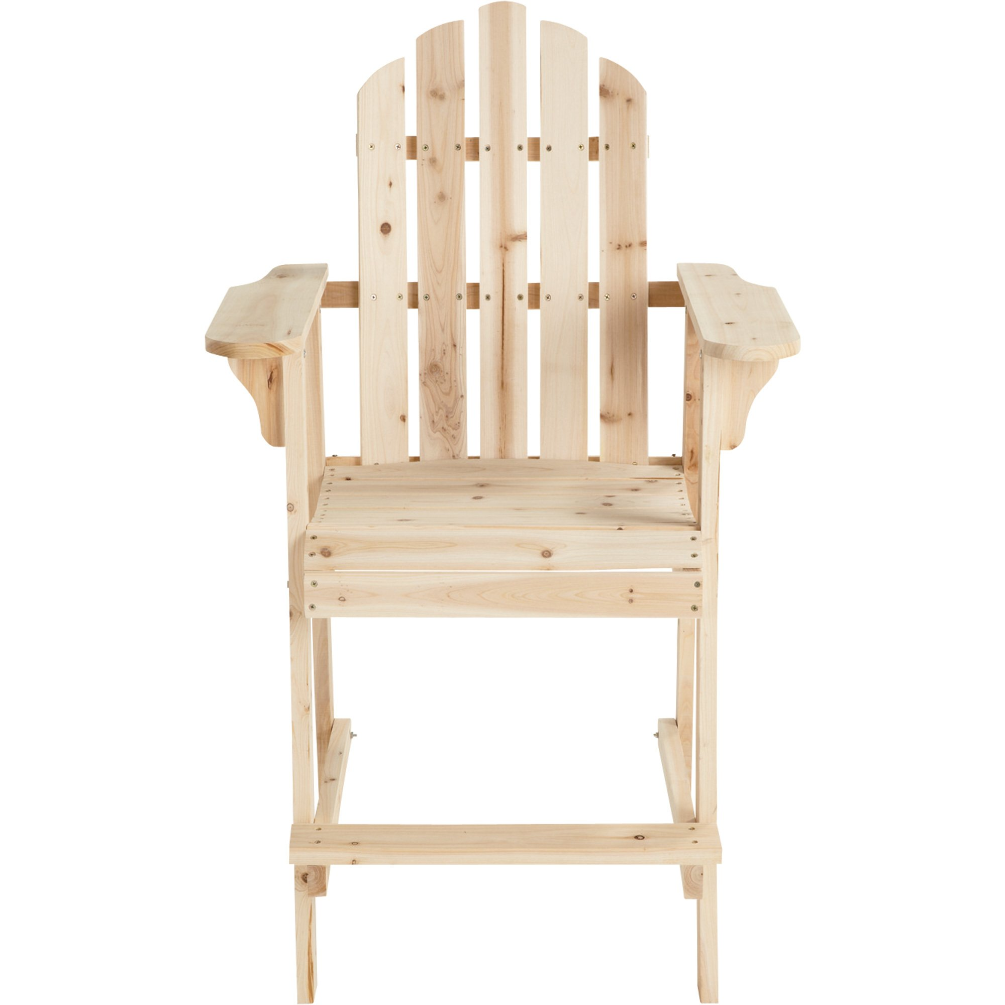 Stonegate Designs Tall Unfinished Fir Wood Adirondack Chair by Stonegate Designs