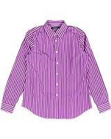 Lauren Ralph Lauren Women's Striped Cotton Shirt