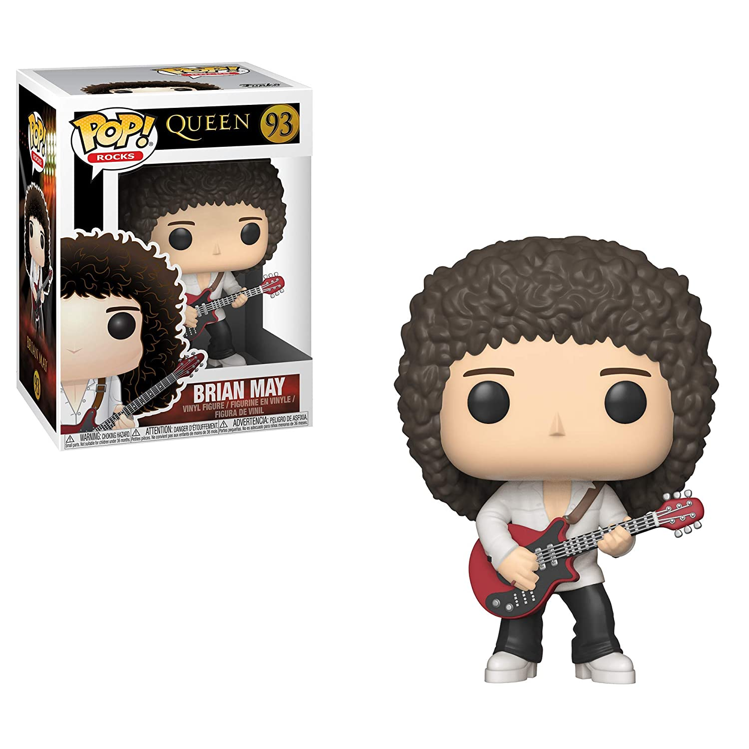 Funko 33720  Pop Rocks Multicolor QueenBrian May
