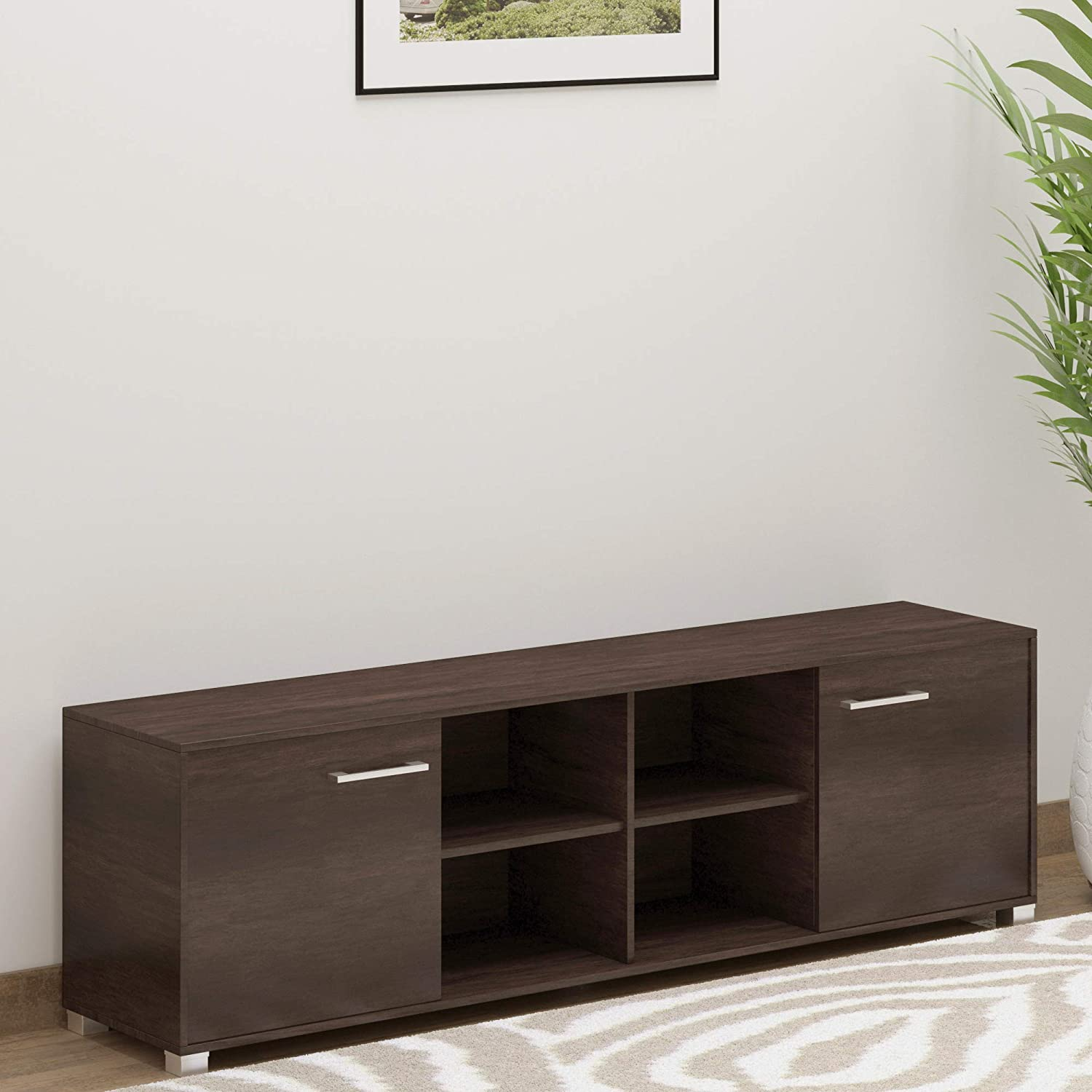 Deckup Uniti TV Stand And Home Entertainment Unit (Wenge,