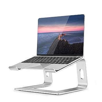 Soporte para laptop, Laptop stand de refrigeración plegable, aleación de aluminio Soporte para computadora