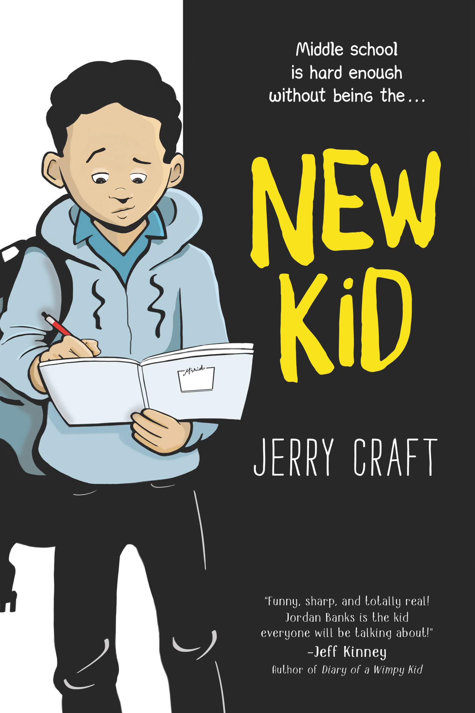 Image result for new kid jerry craft