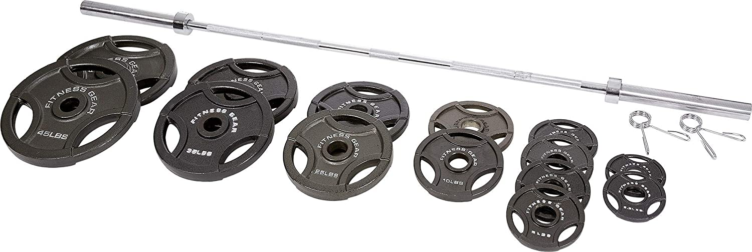 Fitness Gear Olympic Weight Set