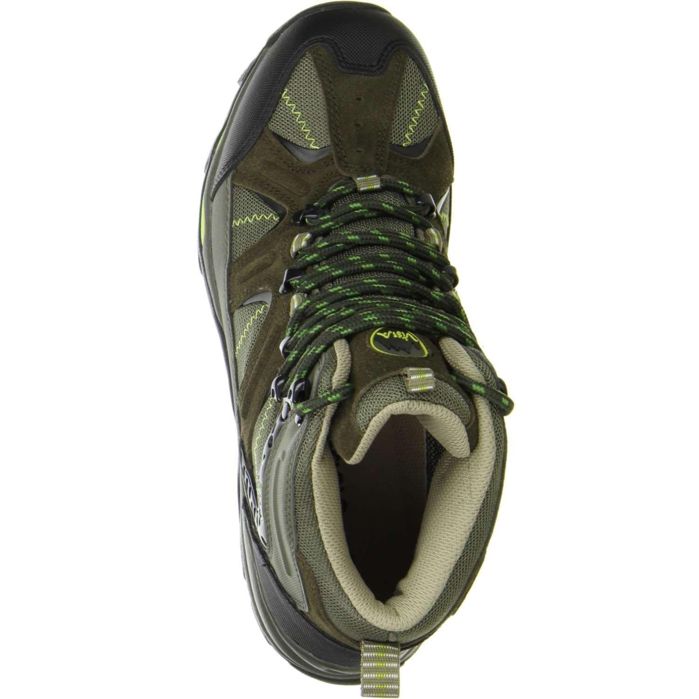 Vista Herren Wanderschuhe Outdoorschuhe grün, Größe 44, 44, 44, Farbe Grün 1a0ccc