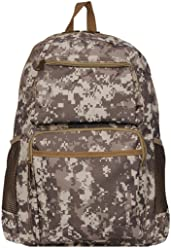 71dc3e23fe54 Wilsons Leather Mens Waterresistant Canvas Backpack