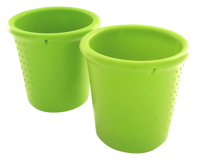 Pack de 2 vasos de silicona Silikids SKCUPS03