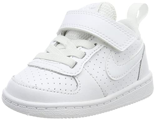 info for 6528b c8939 Nike Court Borough Low (TDV), Scarpe da Basket Unisex-Bambini, Bianco