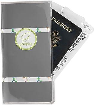 Personalized Dreamcatcher Vinyl Passport Holder