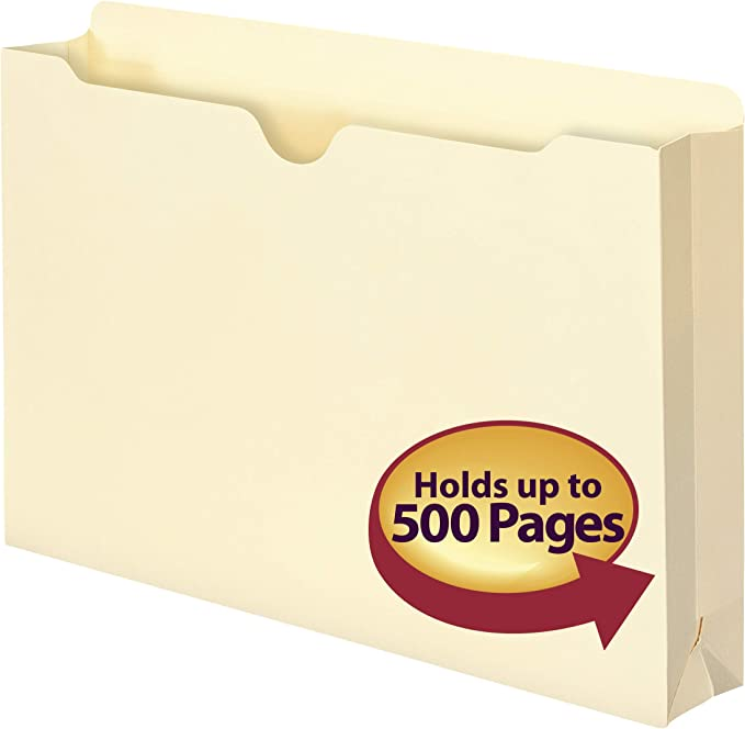 Smead File Jacket 2 Expansion Letter Manila 50ct for sale online