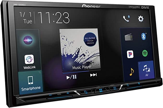 Pioneer DMH-1500NEX - Receptor multimedia digital con pantalla WVGA de 7