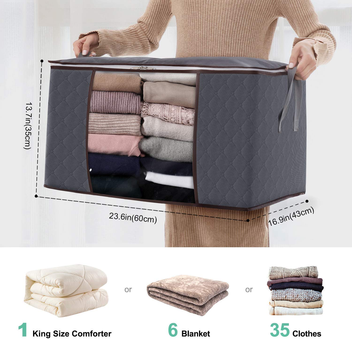 Cashmere Protection Pouch Pack of 5 Anti Moth Cashmere Storage Bag