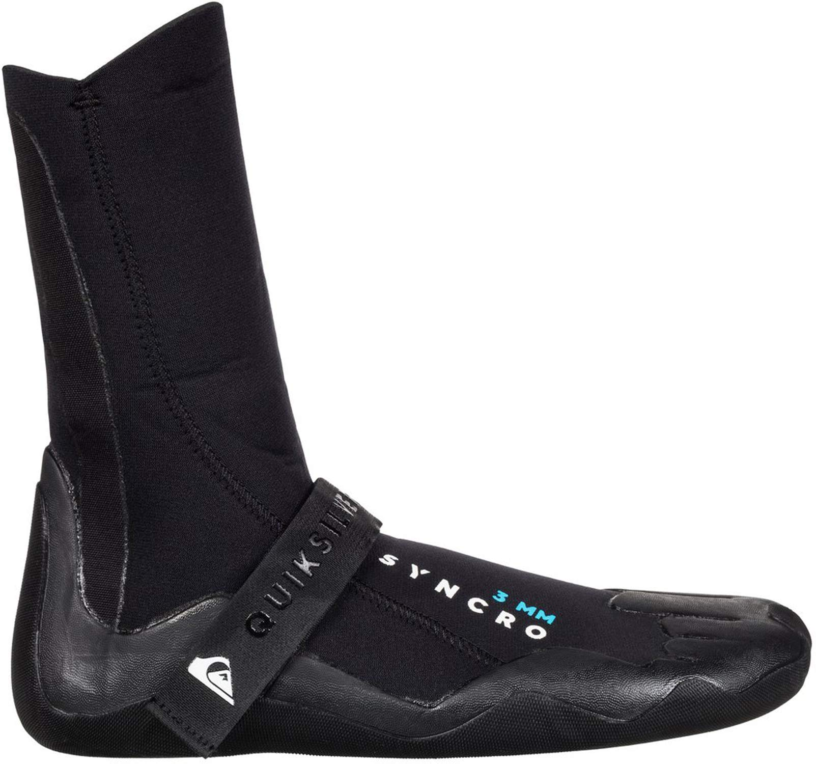 Quiksilver 3mm Syncro Round Toe Men's Watersports Boots - Black / 10 by Quiksilver