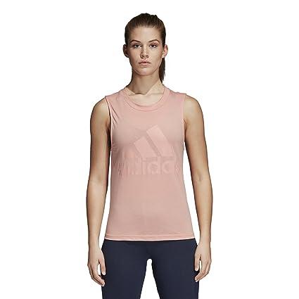 Adidas ESS Soli SL tee Camiseta, Mujer, Rosa (Rostra), 2XL: Amazon.es: Deportes y aire libre