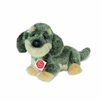 Plush Soft Toy Wire-haired Dachshund by Teddy Hermann. cm. Cute Li\'l ...