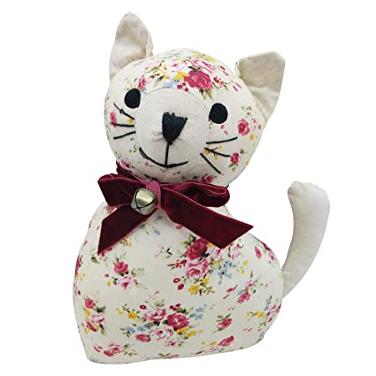 Amazon Com Fabric Animal Door Stopper Cat Lover Gifts Decorative
