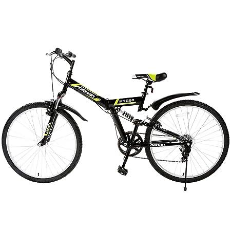 Amazon.com : Murtisol Folding Bike 26 Mens and Womens Bike Fast Speed 7 Speed Commuter Bike Full Suspension Shimano Derailleur Bicycle, ...