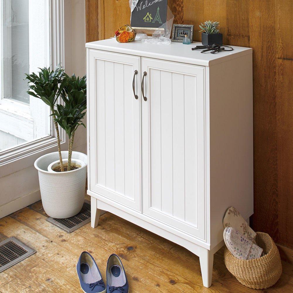 玄関収納 インテリア家具 シューズボックス 靴収納 移動 棚 は 外して ブーツ も 収納 できます 落ち着いた 色合い と 甘すぎない デザイン Retria シューズラック B00UBNNZ9Y