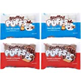 Stuffed Puffs - Variety 4 Pack, Marshmallows Made with Real Chocolate, Perfect for Hot Cocoa and Snacking, 2 bags of Original